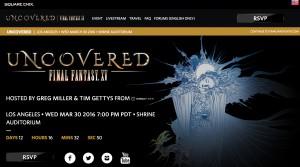 final fantasy 15 screenshot official site