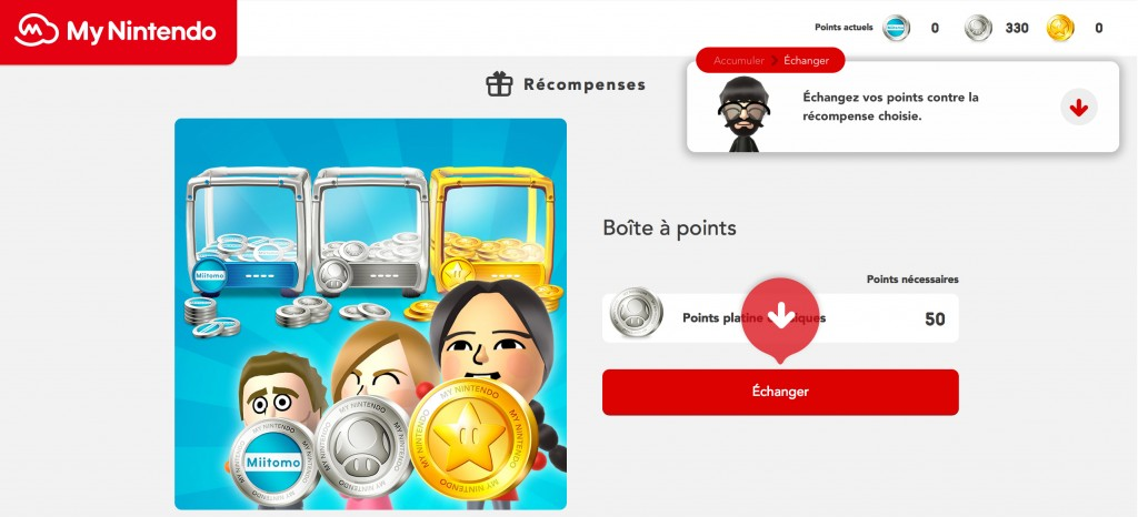 boite a points my nintendo