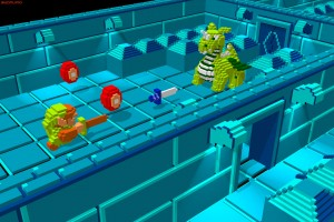 Zelda 1 projet voxel 3d jeu gratuit