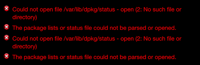 fix cydia erreur 1
