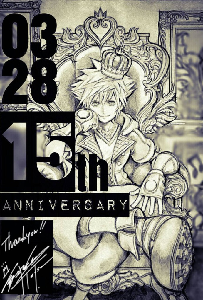 kingdom hearts 15th anniversaire
