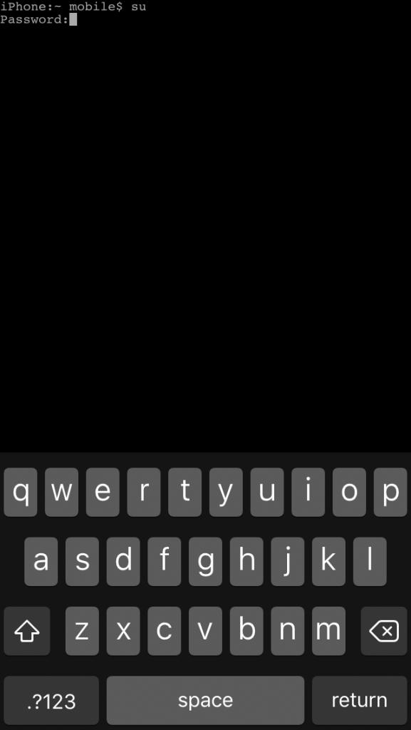 mterminal super user iphone