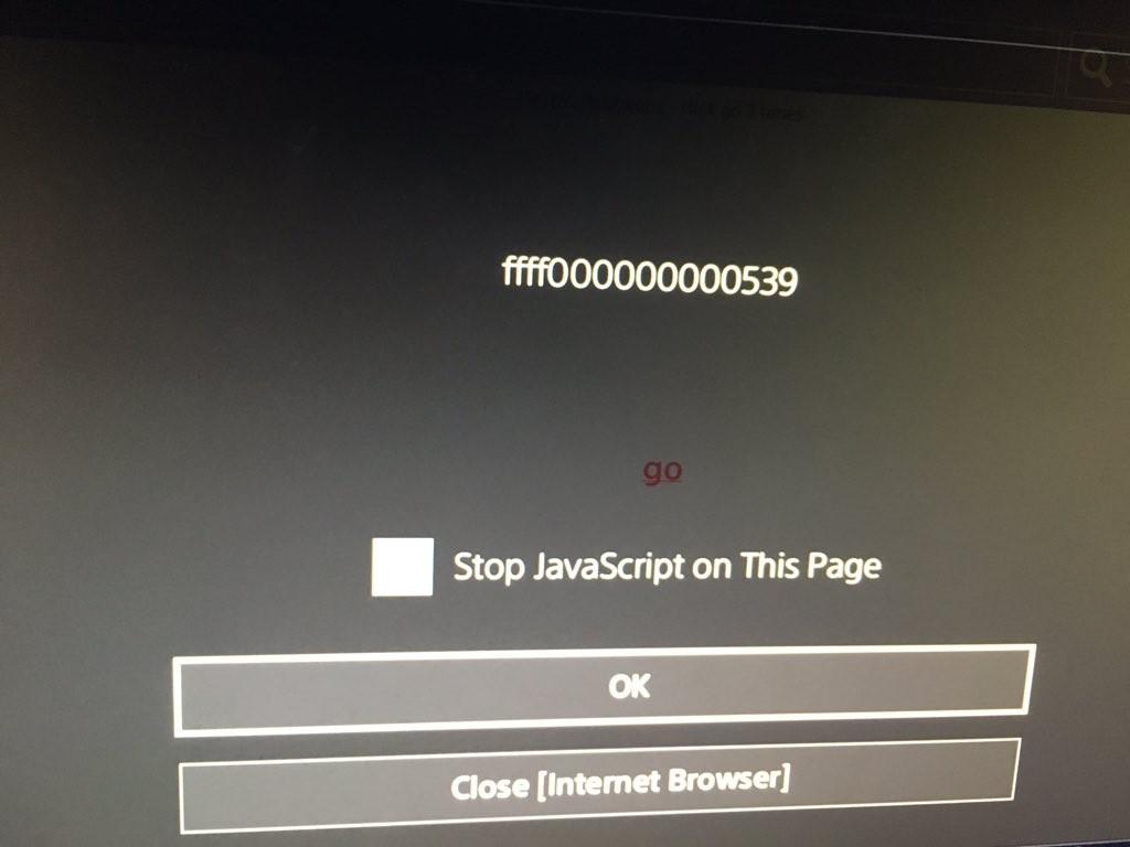 ps4 exploit webkit firmware 4.0