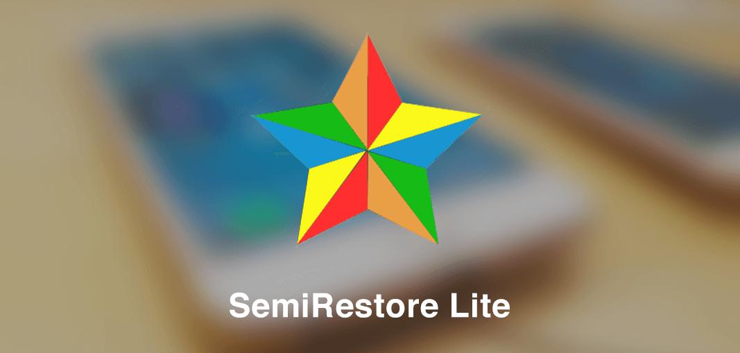 semi restore lite iphone