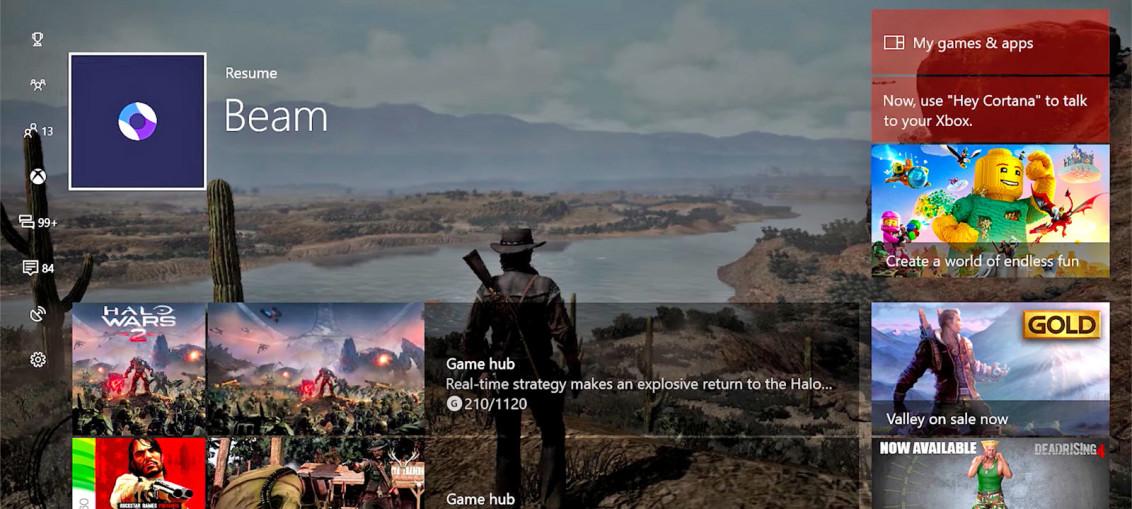 Xbox one nouveau dashboard
