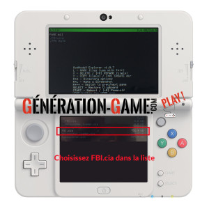FBI tuto 3DS hack