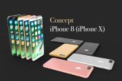 concept de l'iphone 8