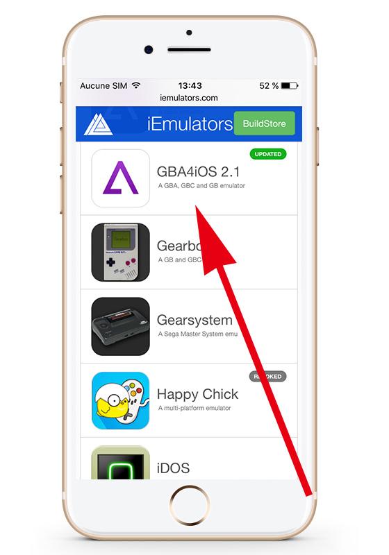 gba4ios iOS 10
