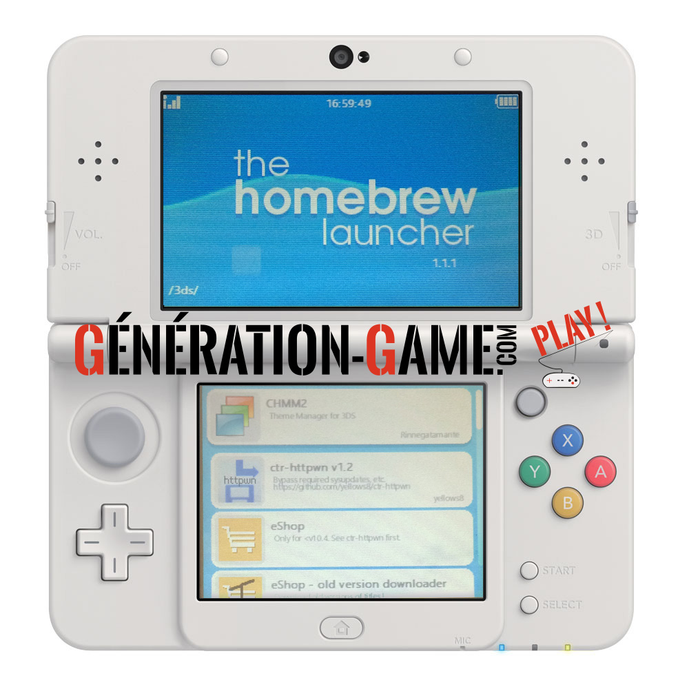 homebrew launcher 3ds tuto