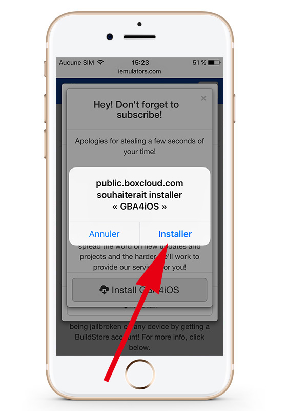 install gba4ios iPhone iOS 10