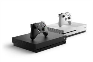 xbox one x couleur blanc et noir