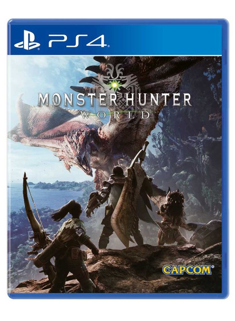 monster hunter world jaquette ps4