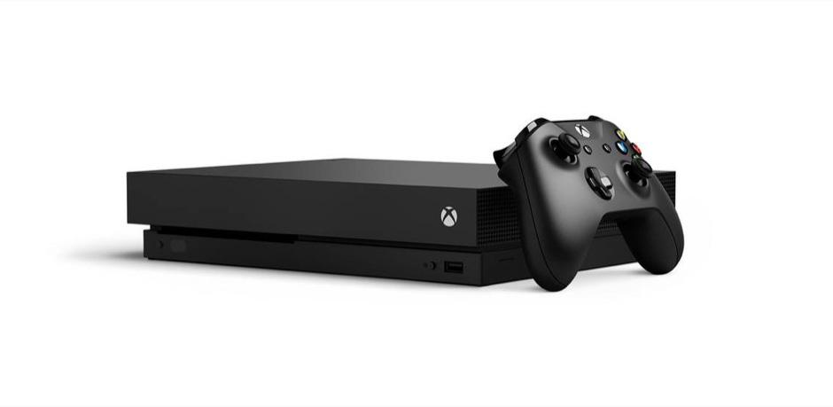 xbox one x console microsoft 4K