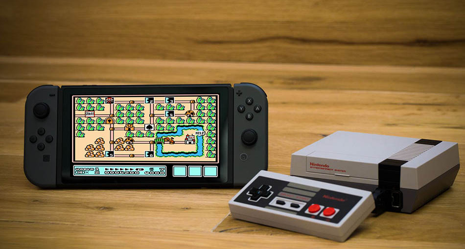 nintendo switch console nes emulateur