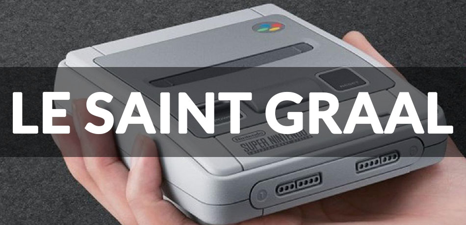 saint graal snes mini