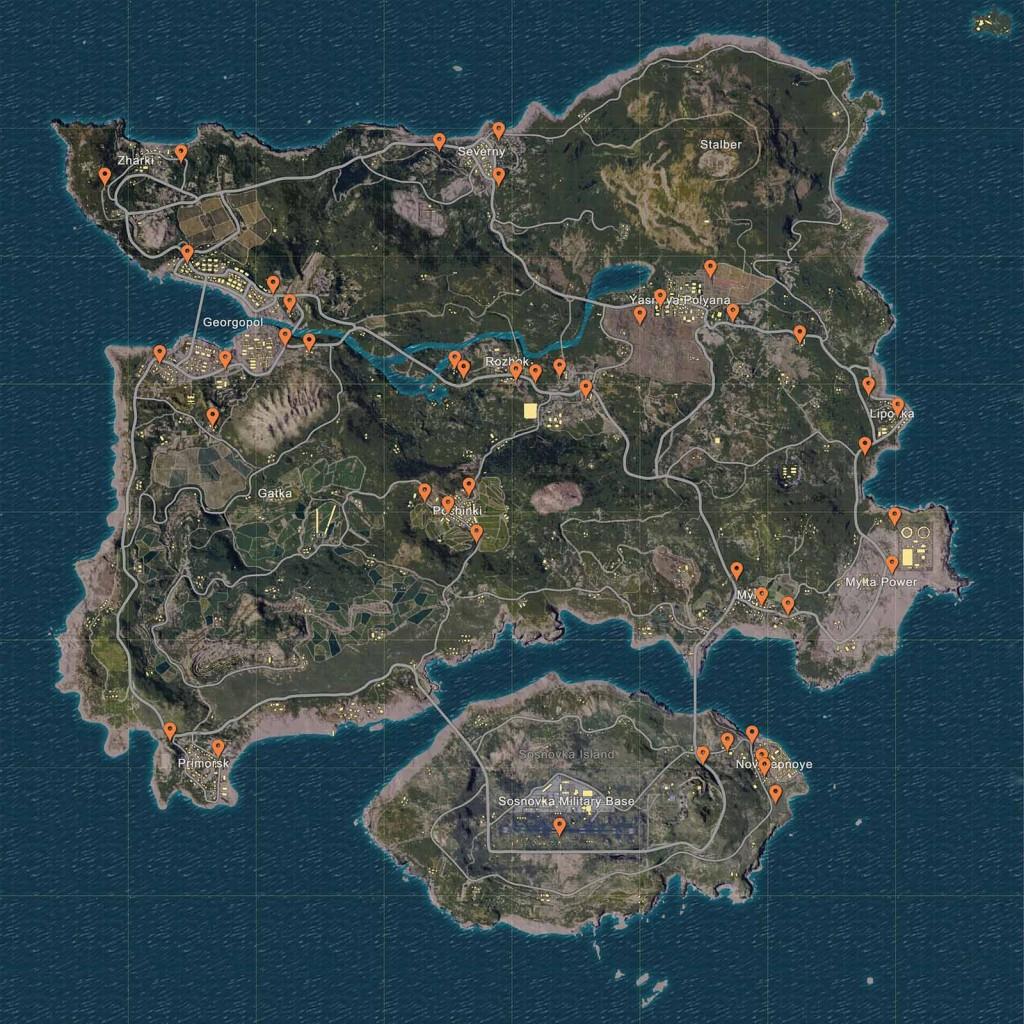 battlegrounds-carte-spawn-vehicules