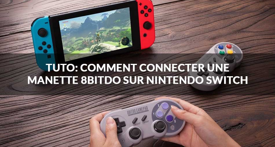 Tuto nintendo switch comment connecter une manette - Comment connecter manette wii a la console ...