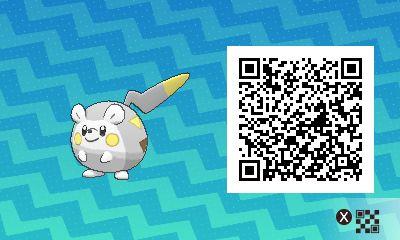 Togedemaru-pokemon-ultra-QR-Code-pokedex-777
