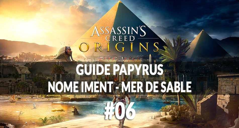 soluce papyrus assassin 39 s creed origins g n ration game. Black Bedroom Furniture Sets. Home Design Ideas