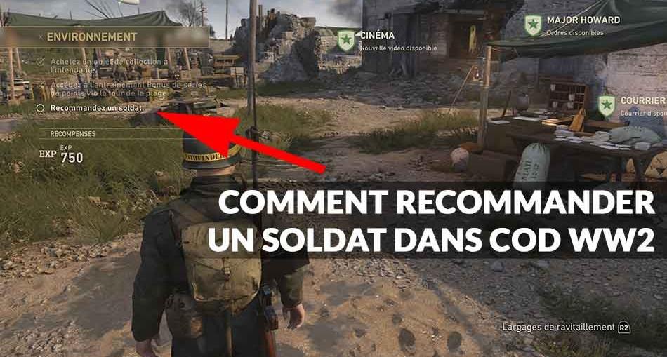 multijoueur-CoD-WW2-comment-recommander-un-soldat