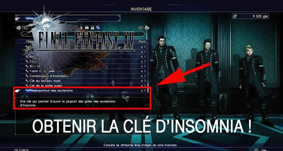 obtenir-la-cle-dinsomnia-final-fantasy-XV-royal-edition