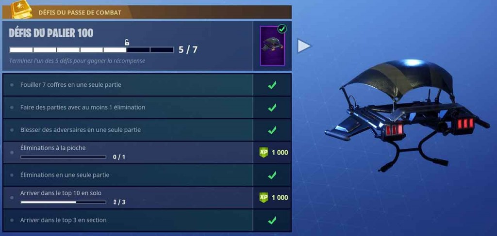 recompense-turboplaneur-palier-100-defis-fortnite