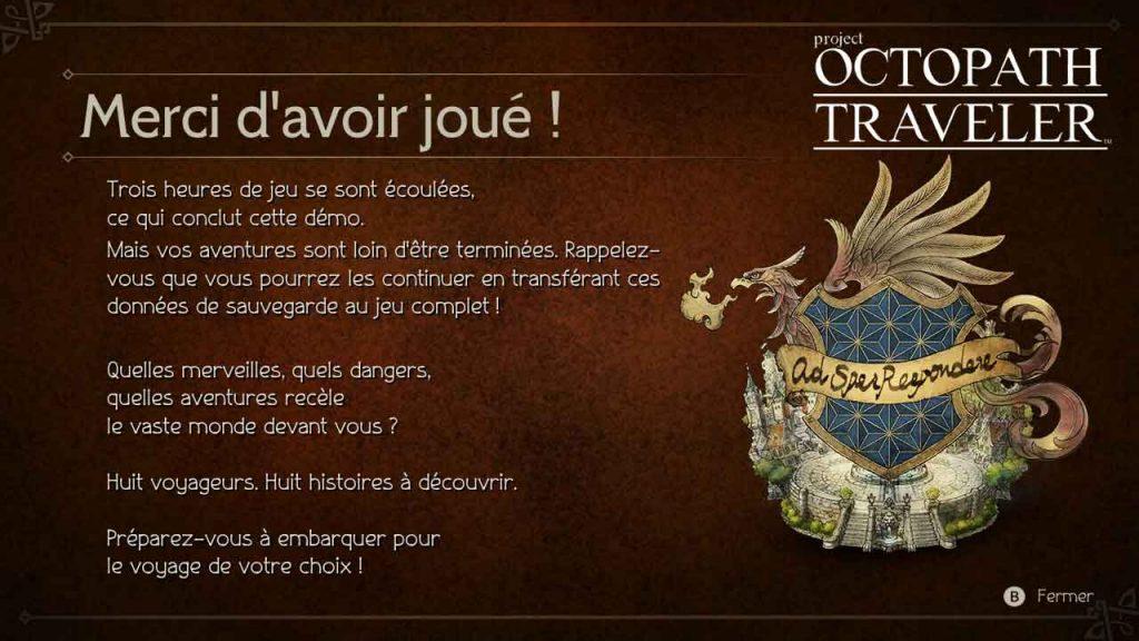 octopath-traveler-ecran-fin-demo-jouable