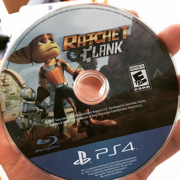 disque de jeu ratchet & clank PS4