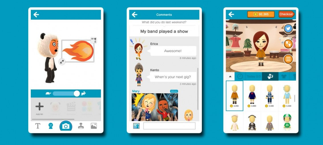 Miitomo application social de nintendo