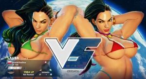 Street Fighter V Nude Mods Bikini Laura 01