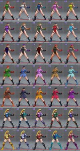 street fighter 5 costumes et couleurs 06
