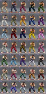 street fighter 5 costumes et couleurs 10