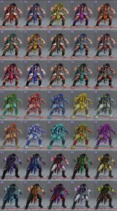 street fighter 5 costumes et couleurs 13