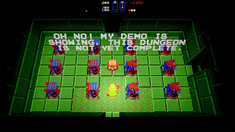 zelda tribune jeu gratuit voxel 3D 03