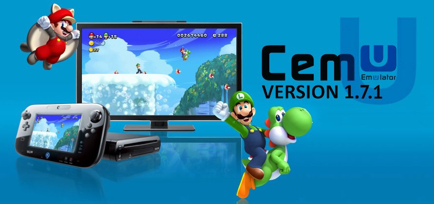 cemu emulateur wiiu version 1.7.1