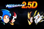 fan game mega man 2.5D