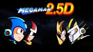 fan game mega man 2.5D