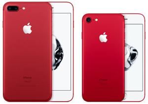 iPhone 7 rouge limitée