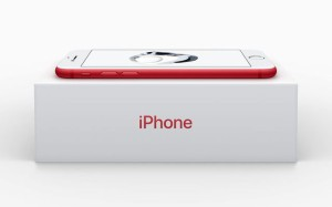 iPhone 7 rouge edition