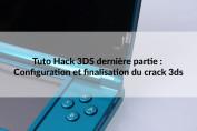 configuration et crack 3ds