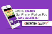 gba4ios tuto sans jailbreak