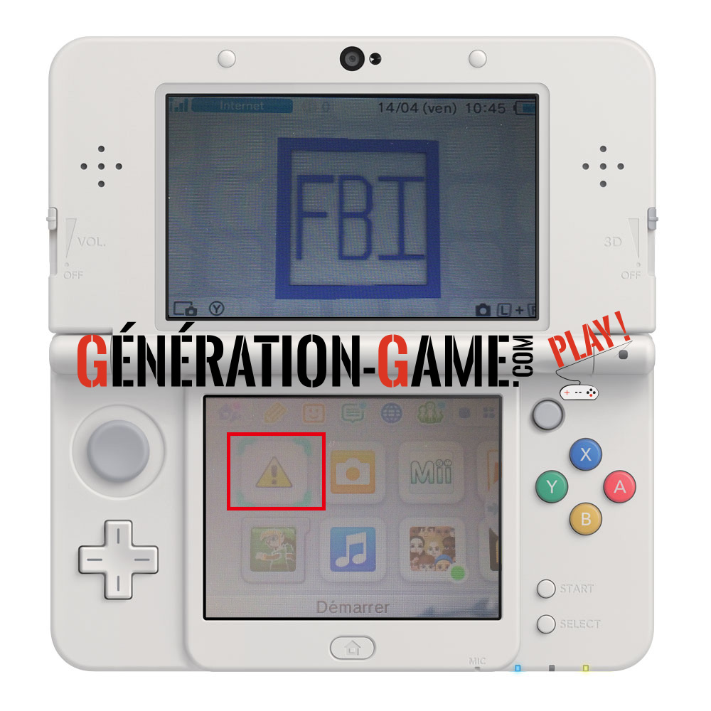 guide installation FBI 3ds