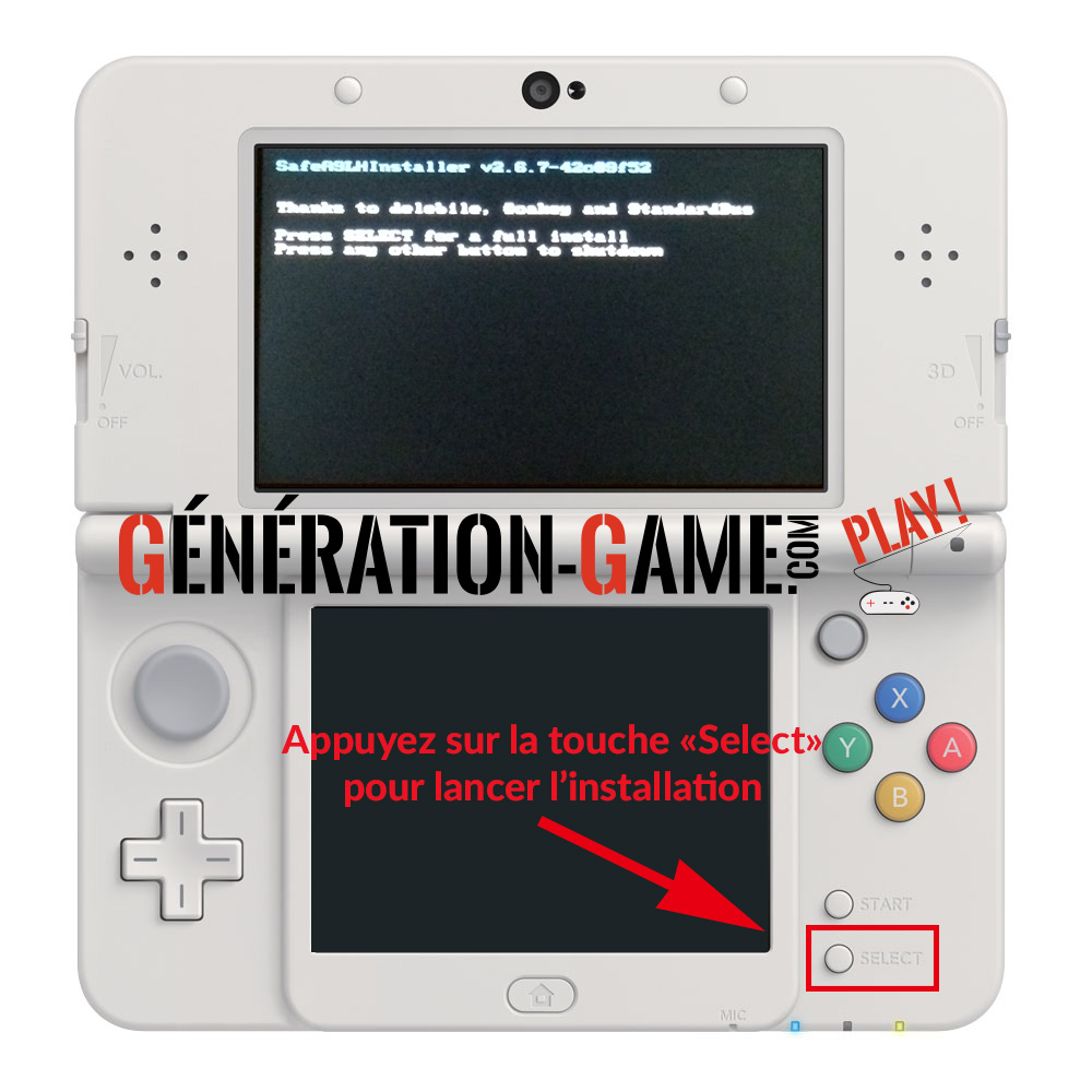 install custom firmware 3ds