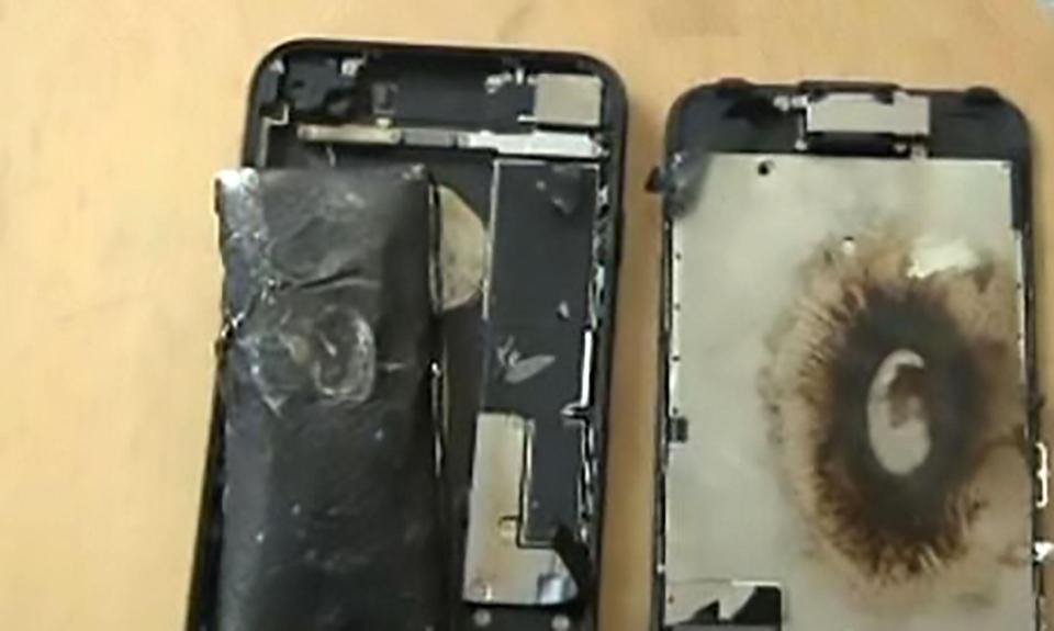 iPhone 7 explosion 2