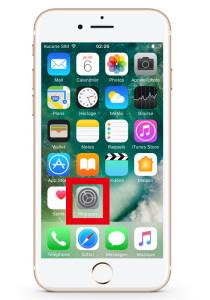 iPhone reglage springboard