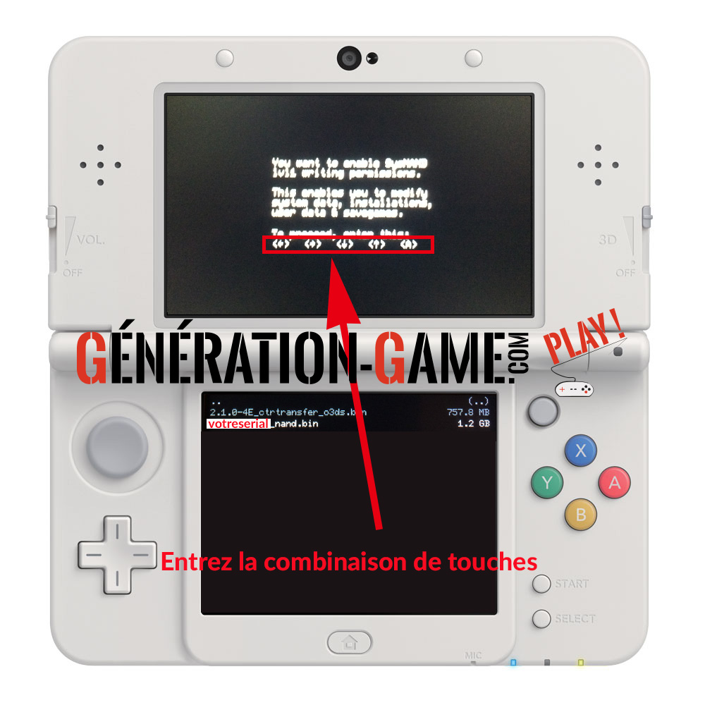 luma restauration nand 3ds