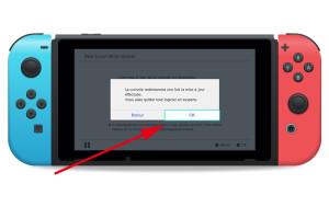 maj firmware switch tuto