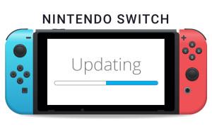 update firmware nintendo switch