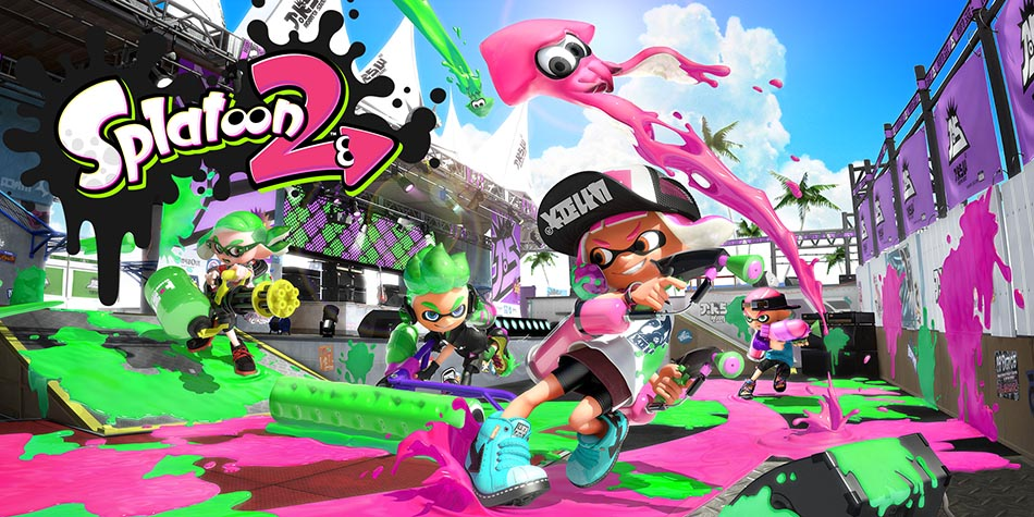 splatoon 2 jeu switch