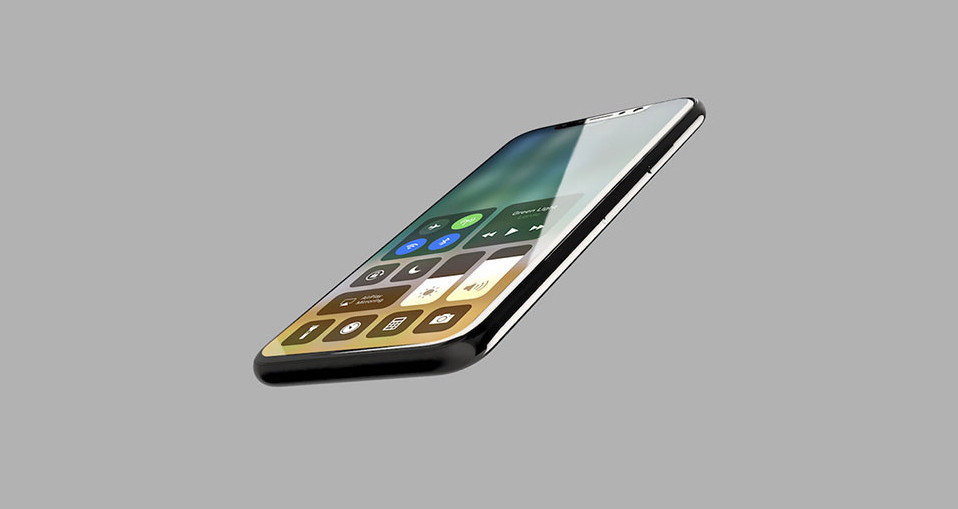 concept iPhone 8 iOS 11